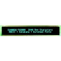 VFD Module 40x2Ch, 188.55 x 16mm Display area,
