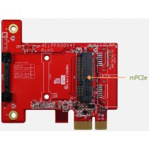 PCIe x 1 to mPCIe Module Test Adapter