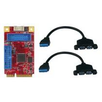 mPCIe to 4x USB3 Wide Temp.