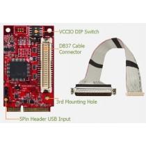 USB to 32bit Digital mPCIe I/O Module   -40°~85°