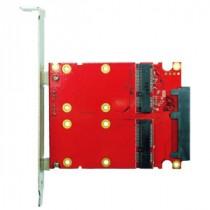 SATA to 2x mSATA RAID Card