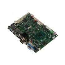 "3.5"" SubCompact Board, Intel Celeron N3350 Processor up to 2.5GHz, VGA/LVDS1/LVDS2,DDR3L 1866 SODIMM"