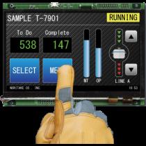 """10.1"""" TFT Module, MPCT Touch, 850cd/m2, HDMI, USB, -20..+60C"""