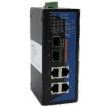 3onedata Ethernet Switch 4 ports 10/100/1000M unmanaged,2xFiber 1000M,-40+75C,12..48VDC