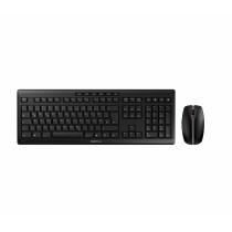CHERRY Keyboard+Mouse JD-8560CH STREAM RECHARGE wireless+2.4GHz schwarz CH Layout