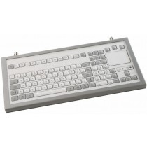 Keyboard with Touchpad IP65 enclosed PS/2 German-Layout