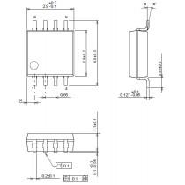 Dual High Speed Single Supply Operational Amplifier MSOP8