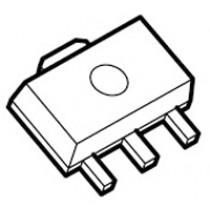 3 Terminal Positive Voltage Reg. SOT-89 pb-free