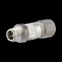 Metz Connect Stecker M12, 8-polig