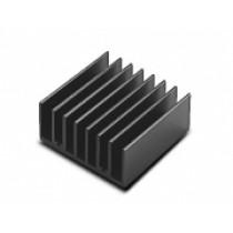Heatsink-Set, 1x Heatsink, 1x Thermal pad, 4x Screw / Washer