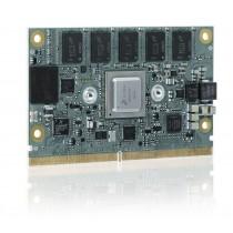 SMARC with NXP LS1028, 1.3GHz dual core; 4GB DDR3L ECC, 8GBeMMC SLC, NW3, 2xPCIe,audio,DP,ind.Temp.