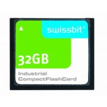 Industrial Compact Flash Card, C-500, 32 GB, SLC Flash, -40°C to +85°C