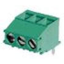 PC-Schraubklemme, 90°, mod., 03 pol., RM 7.50mm