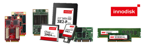 Innodisk Flash, DRAM und Embedded Peripherals
