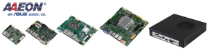 AAEON Embedded Boards, Single Board Computer und Bare Systems